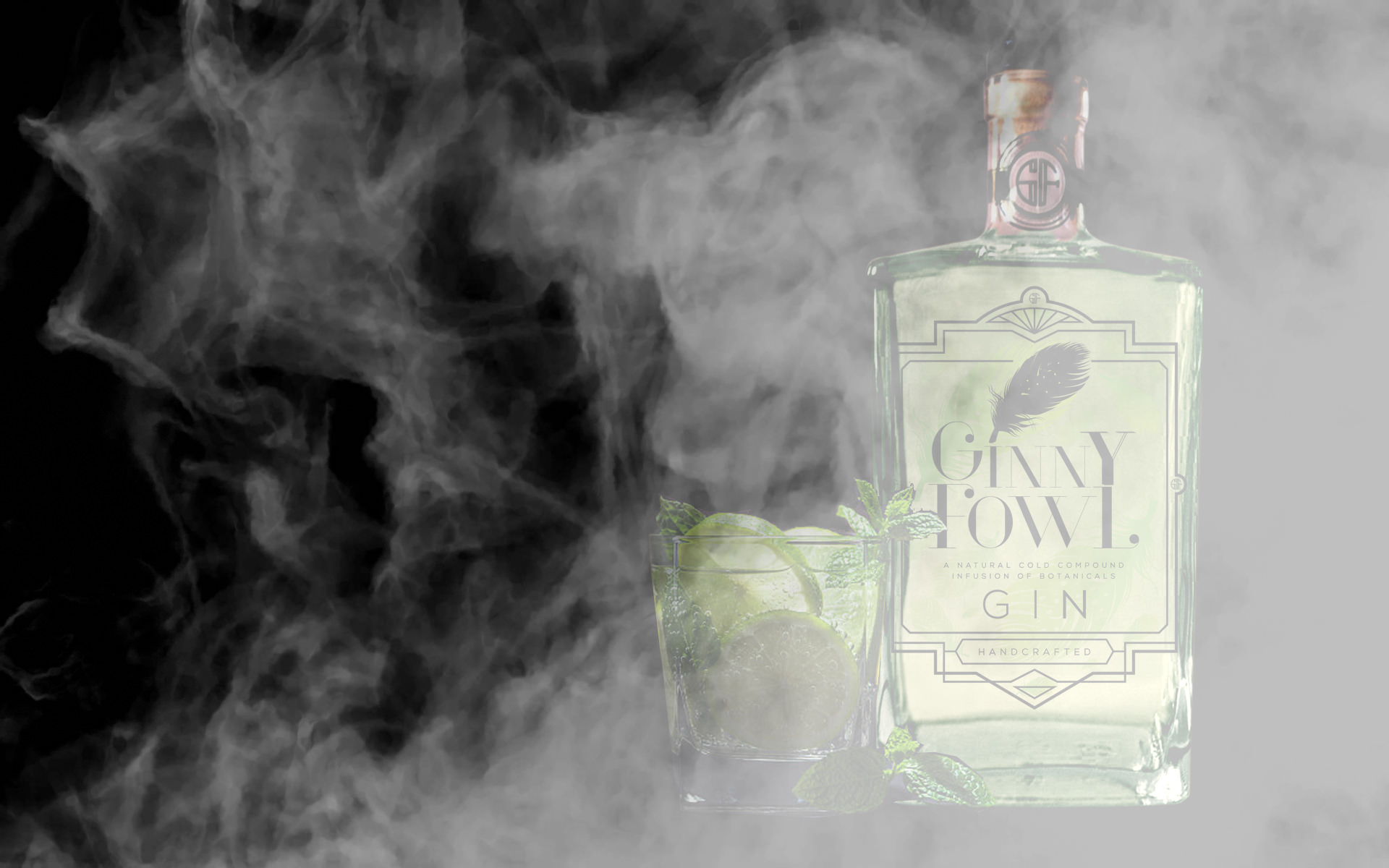 Ginny Fowl Lemongrass and Lime Gin